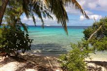 Ecco qui un angolino normale dell'atollo