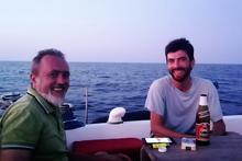 Fabrizio e Michele a bordo