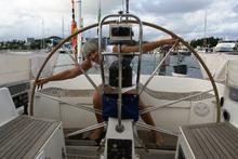 Irene a bordo di Ayoka