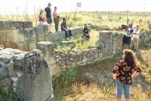 Riprese alla Civita di Tarquinia
