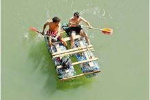 Un catamarano di recupero!