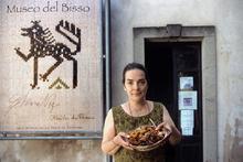 Chiara Vigo al Museo del Bisso