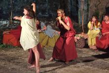 Serata etrusca a Tarquinia