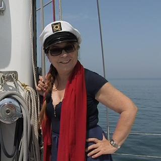 Syusy a bordo di adriatica