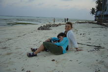 Syusy e Zoe alle Maldive