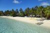 La spiaggia dell'InterContinental Bora Bora Le Moana Resort