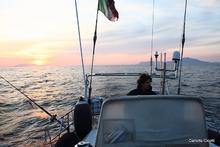 Mattia in navigazione